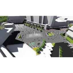 Modernisierung und Erweiterung der Fußgänger- und Fahrradwegen des neuen Zentrums von Satu Mare