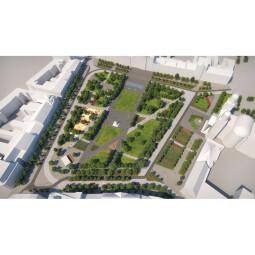 Modernizarea și extinderea traseului pietonal și velo Centrul Vechi din municipiul Satu Mare