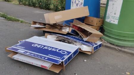 Amenzi drastice pentru persoanele care depozitează deșeurile în afara recipientelor!