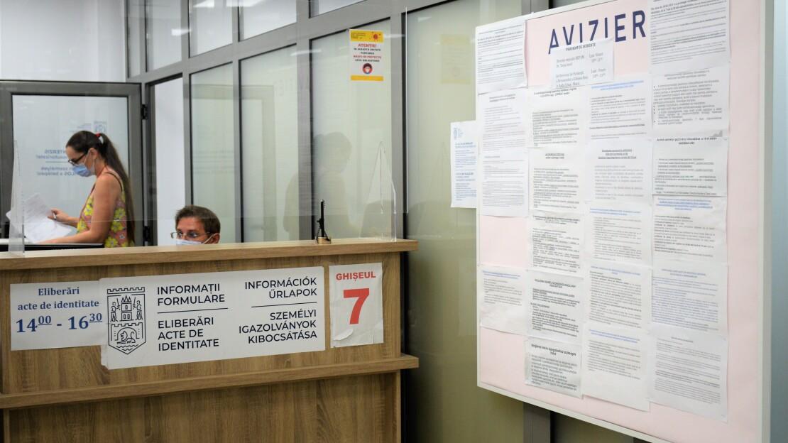 ANUNȚ PRIVIND ELIBERAREA CĂRȚILOR DE IDENTITATE