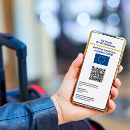 Az uniós digitális COVID-igazolvány igénylése