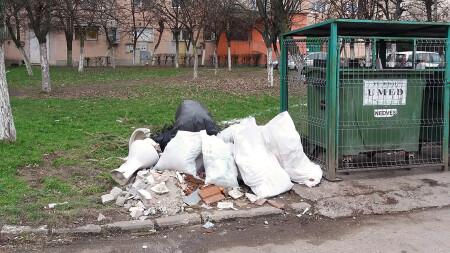 Deșeurile din construcții nu se aruncă la întâmplare, nici la punctele de colectare a deșeurilor menajere!