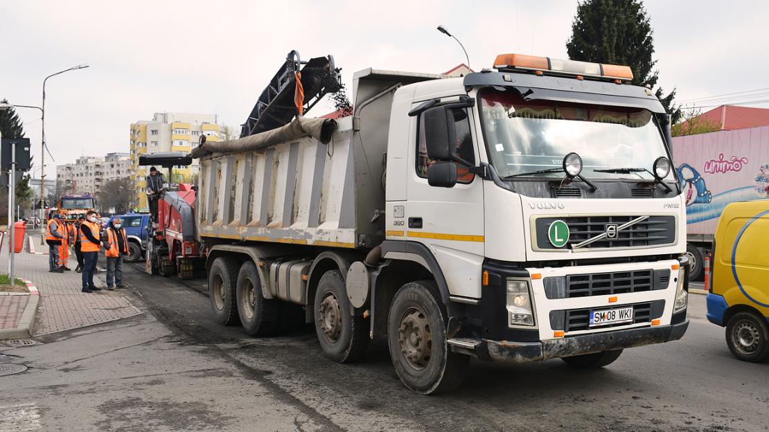 Începem reabilitarea străzilor Ion Vidu, Rodnei și Porumbeilor!