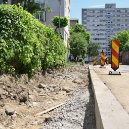 Járdajavítási munkálatok zajlanak az Ozana utcán!