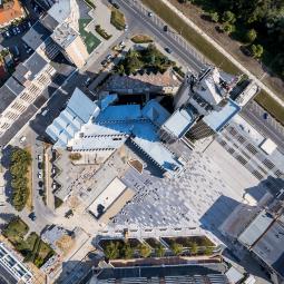 Lucrările de modernizare a Centrului Nou avansează