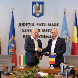 Satu Mare aniversează 20 de ani de parteneriat cu orașul Nyíregyháza!