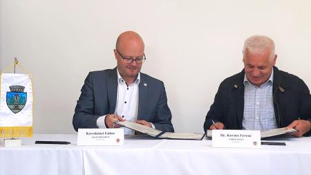 Am reînnoit parteneriatul de înfrățire a municipiului Satu Mare cu orașul Nyíregyháza!